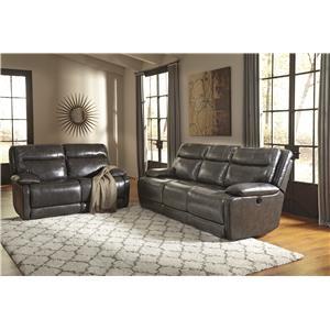 Signature Design by Ashley Palladum Reclining Living Room Group