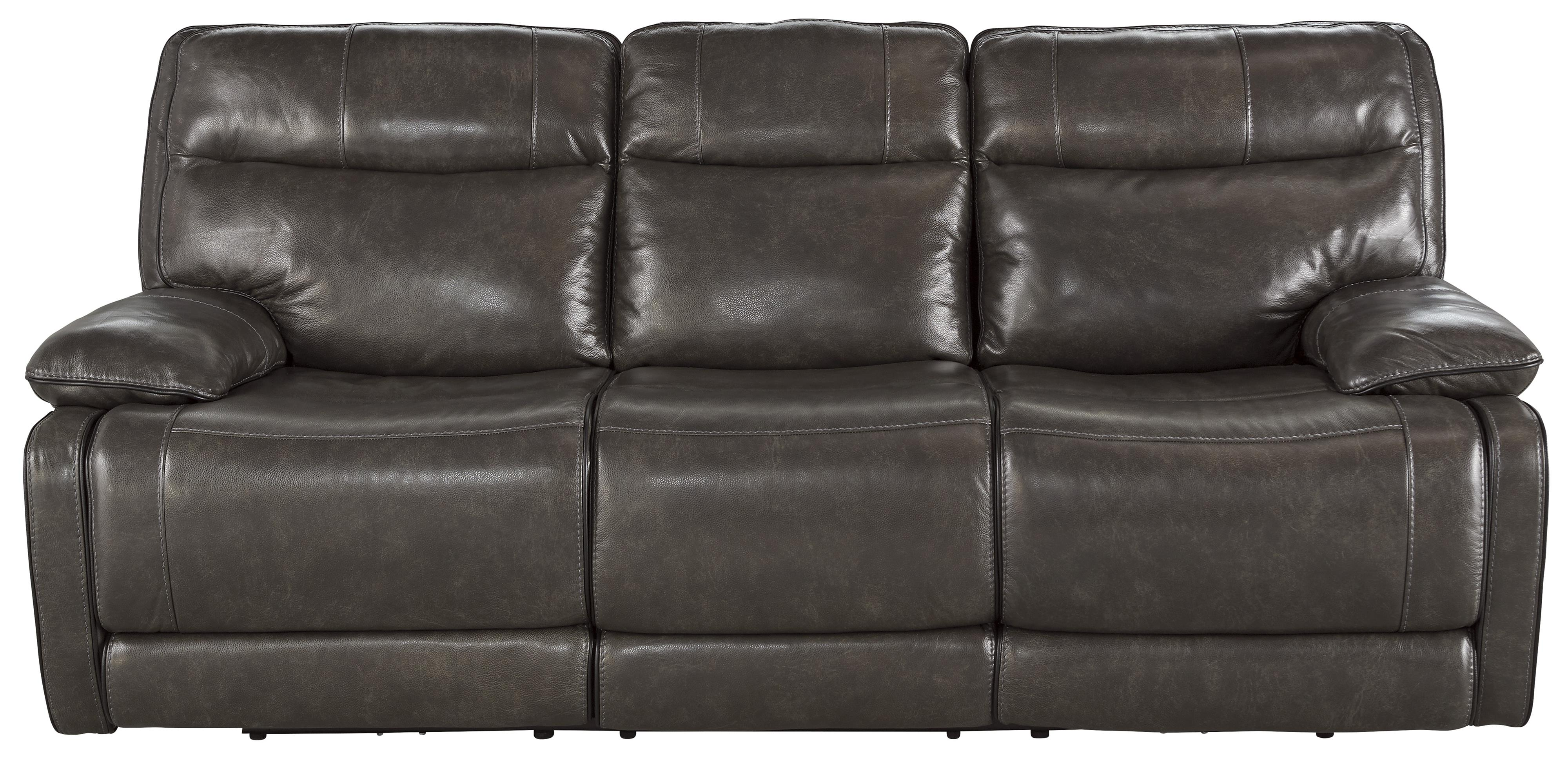 Signature Design by Ashley Palladum Reclining Power Sofa - Item Number: U7260187