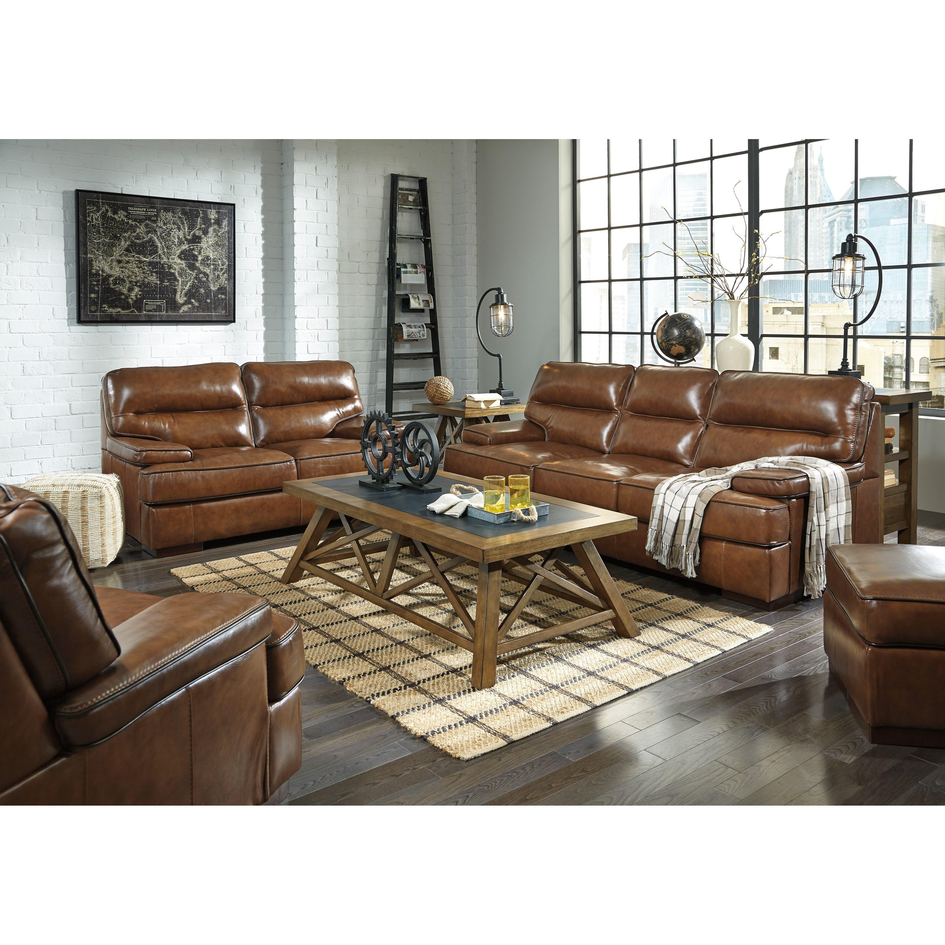 Signature Design By Ashley Palner Stationary Living Room Group Olinde 39 S Furniture Stationary