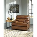 Signature Design by Ashley Palner Contemporary Leather Match Chair