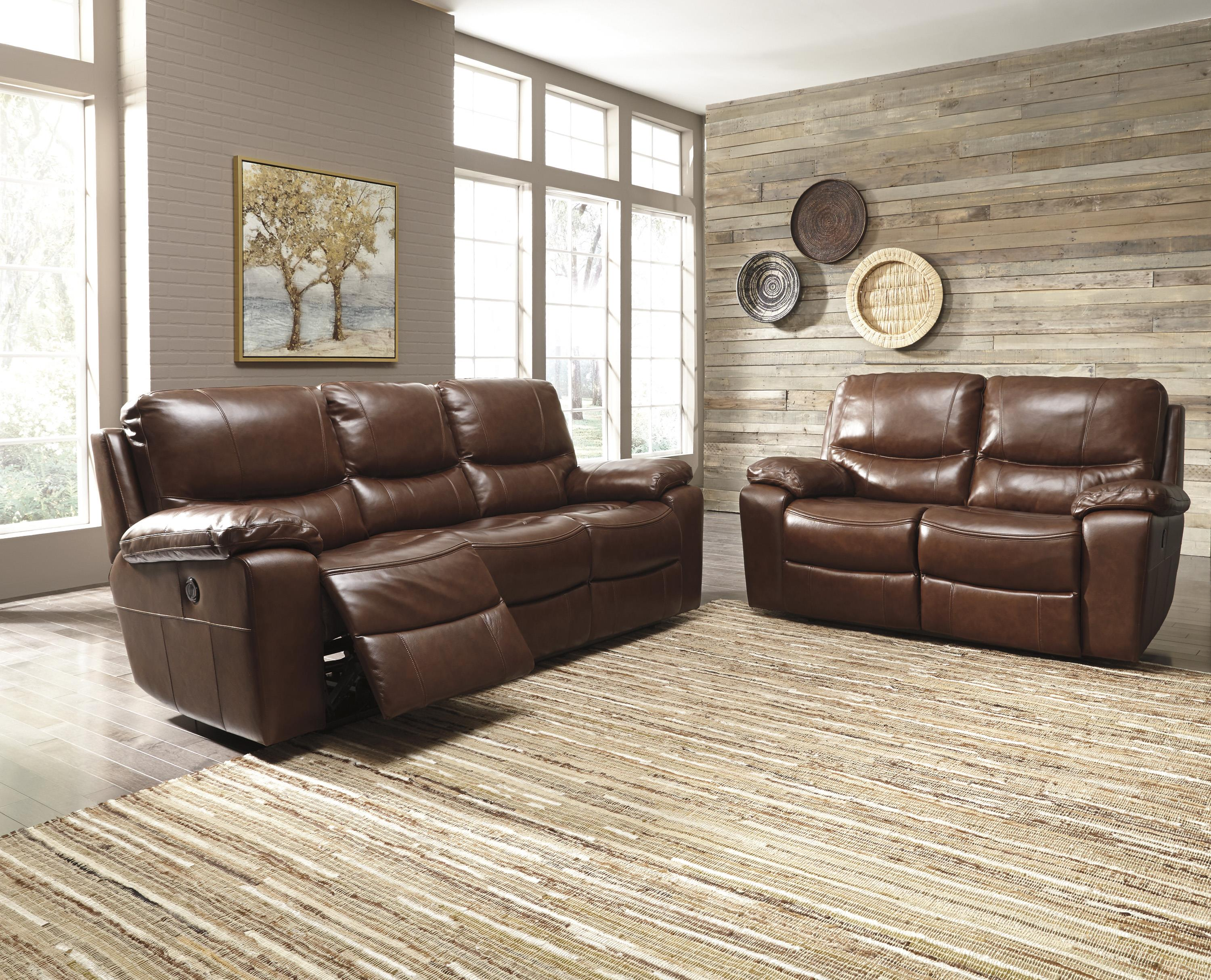 Signature Design by Ashley Panache Reclining Living Room Group - Item Number: U72900 Living Room Group 2