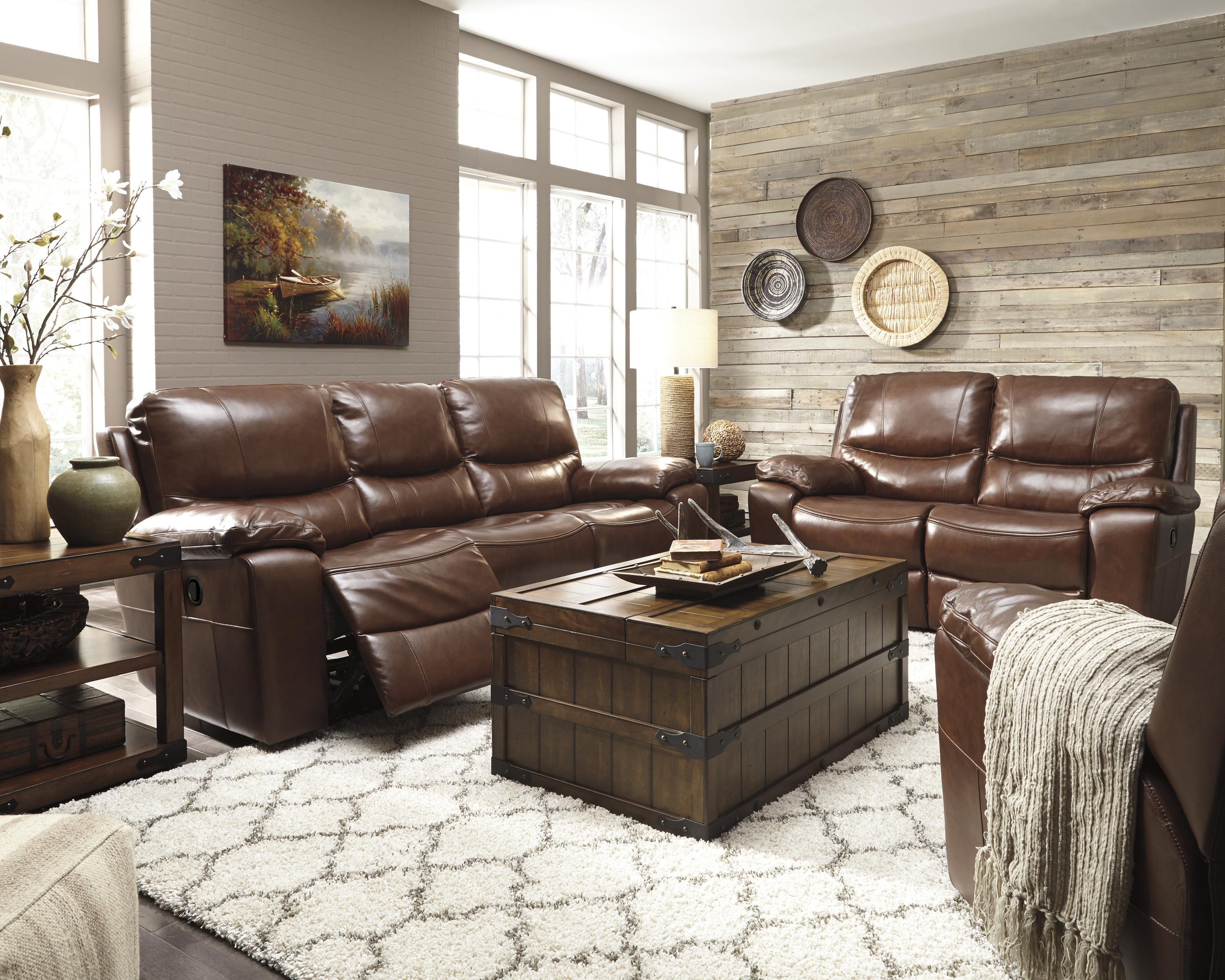 Signature Design by Ashley Panache Reclining Living Room Group - Item Number: U72900 Living Room Group 3