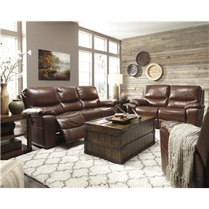 Signature Design by Ashley Panache Reclining Living Room Group