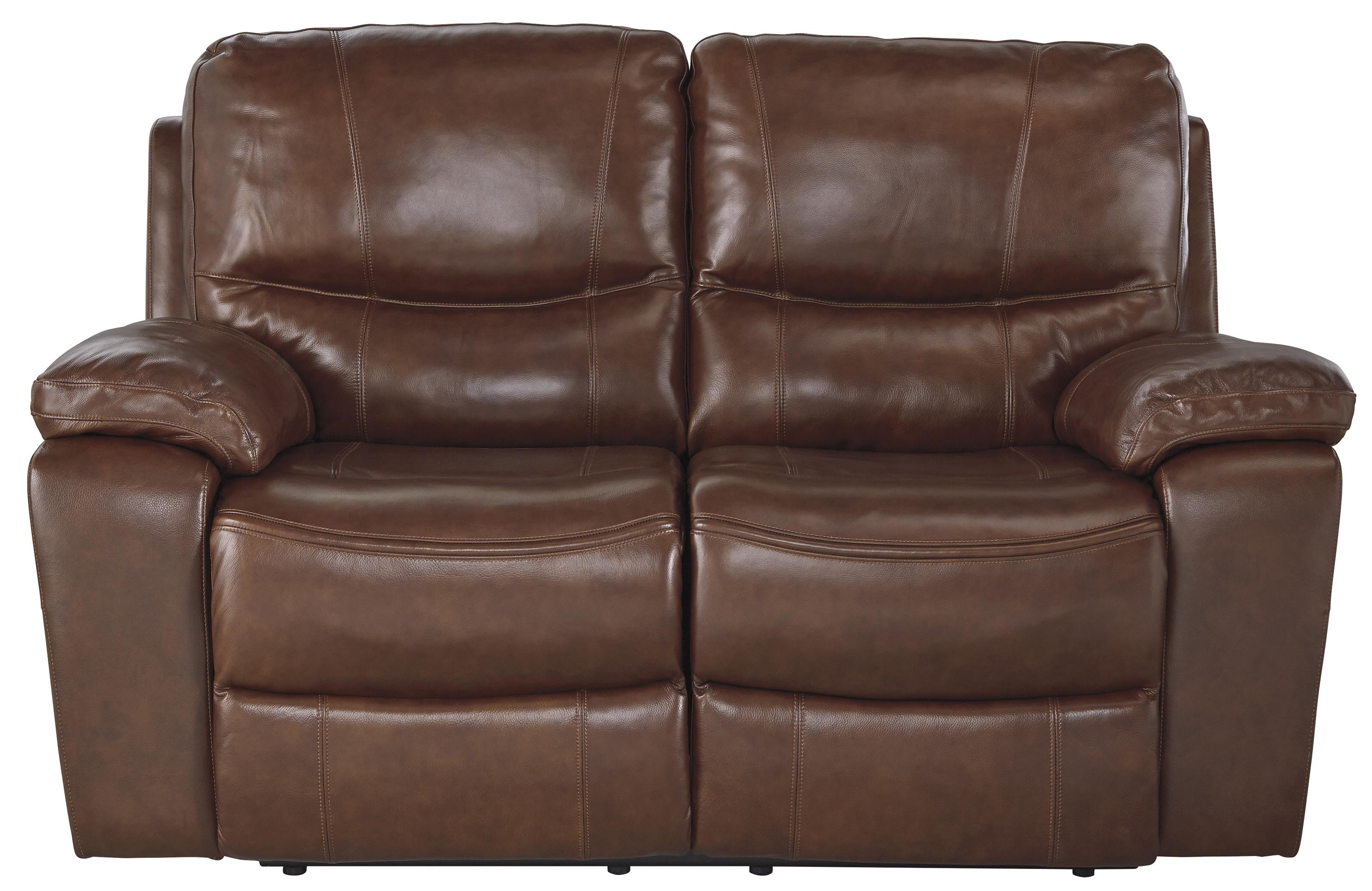 Signature Design by Ashley Panache Reclining Power Loveseat - Item Number: U7290074