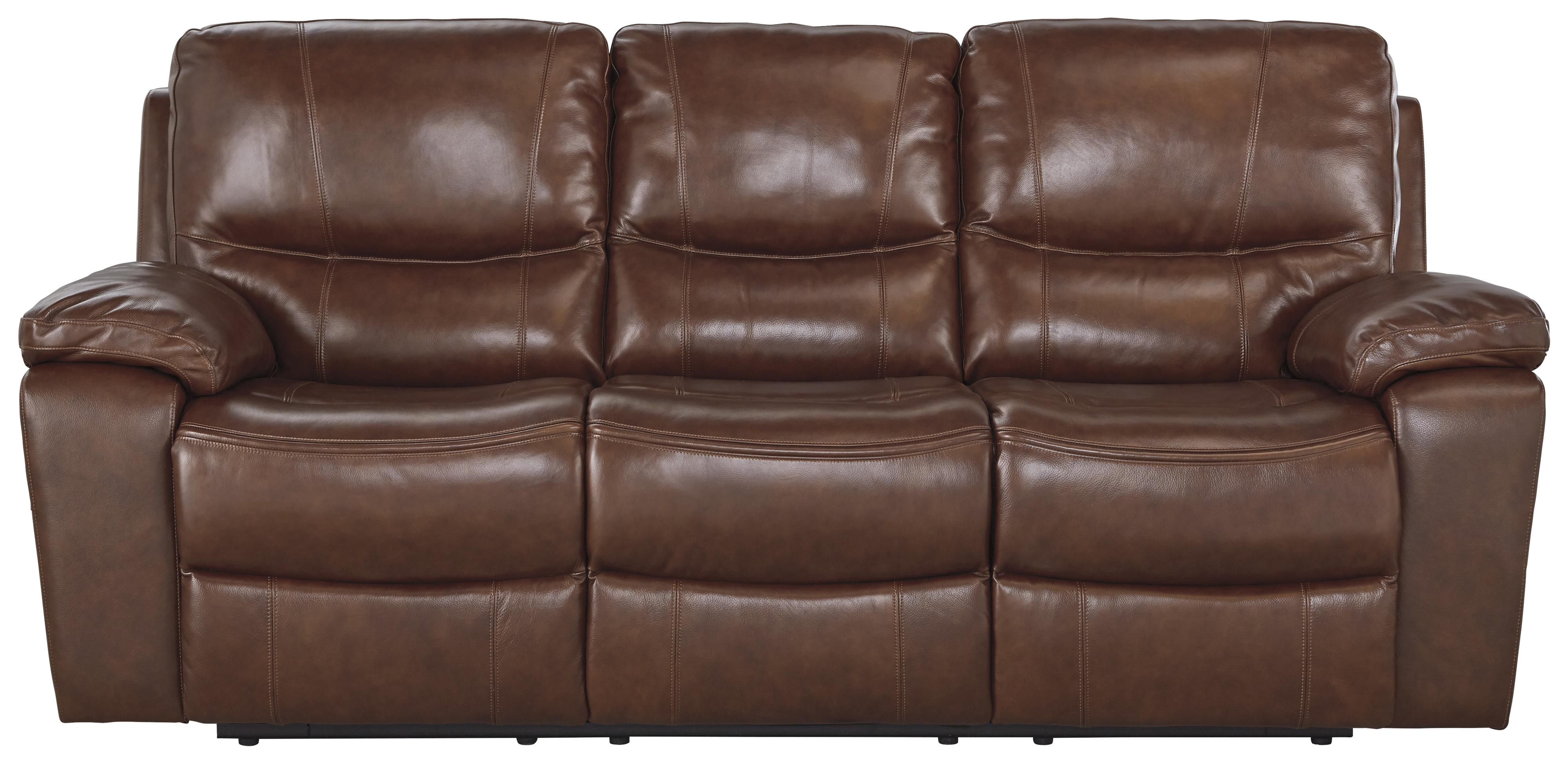 Signature Design by Ashley Panache Reclining Power Sofa - Item Number: U7290087