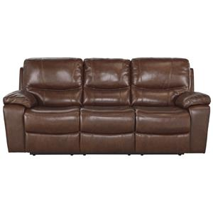 Signature Design by Ashley Panache Reclining Power Sofa