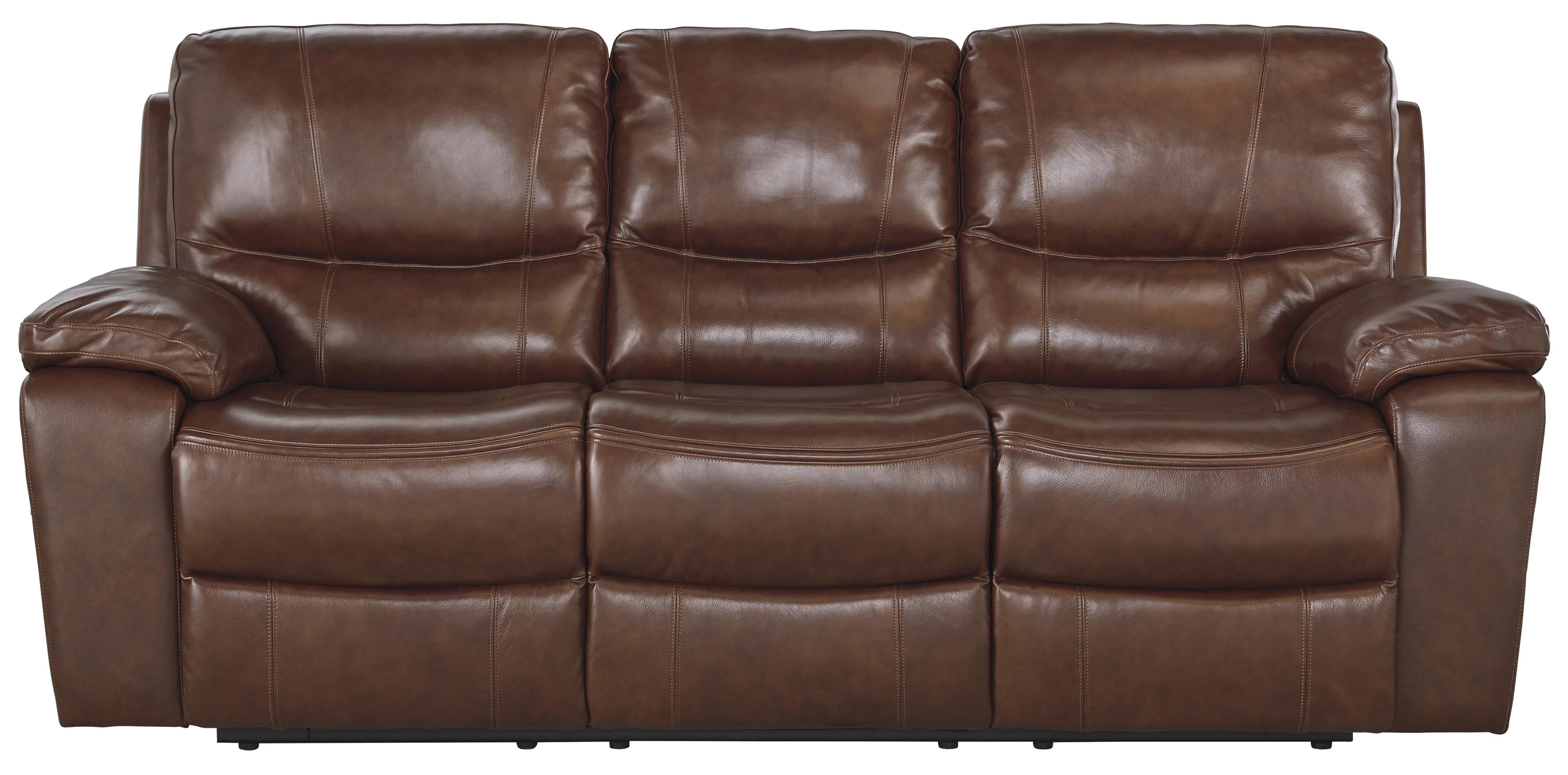 Signature Design by Ashley Panache Reclining Sofa - Item Number: U7290088