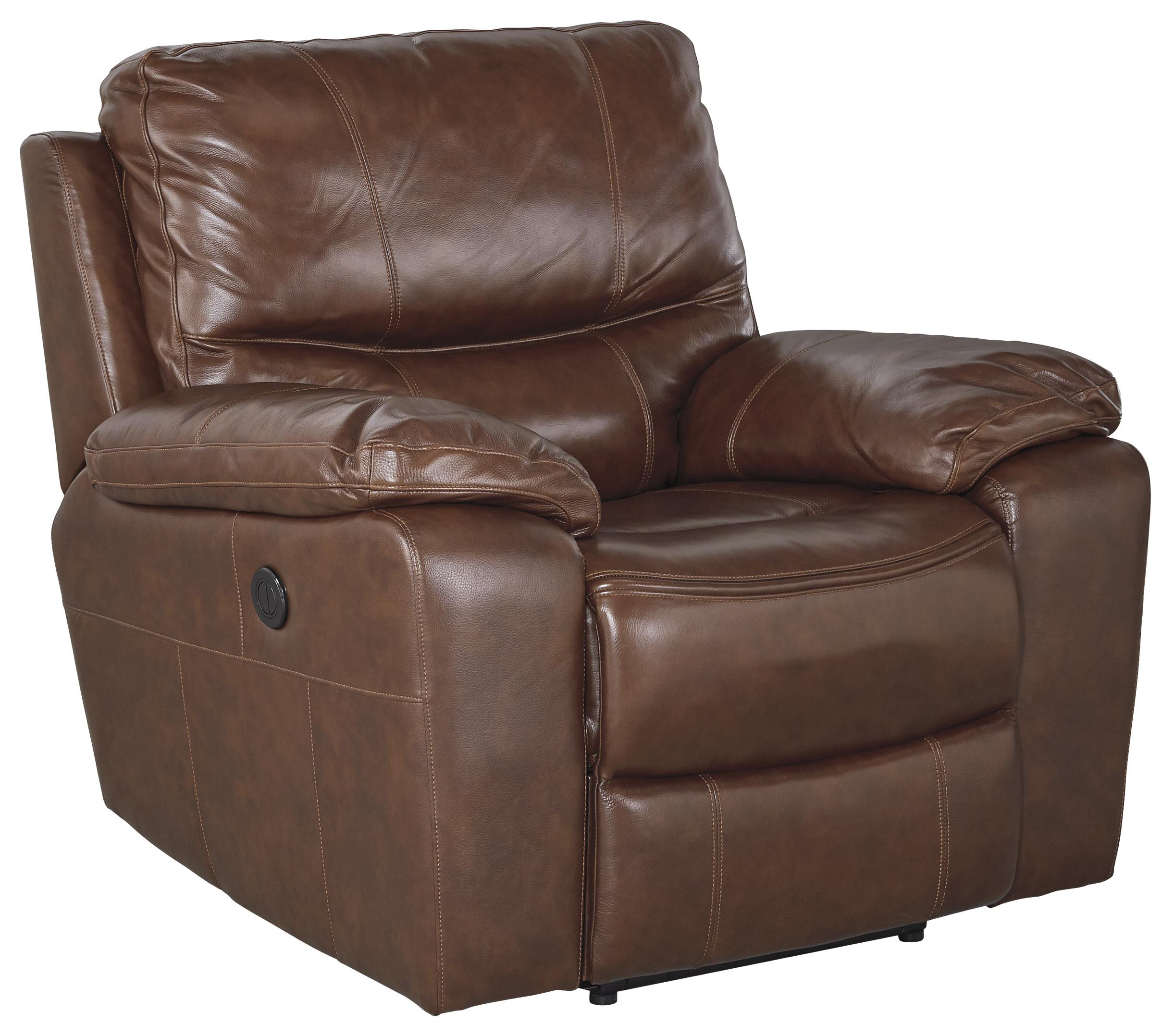 Signature Design by Ashley Panache Power Rocker Recliner - Item Number: U7290098