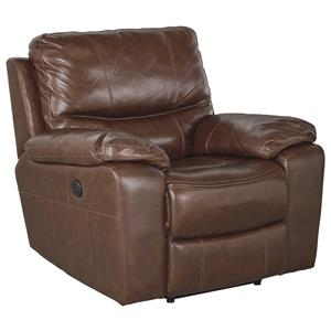 Signature Design by Ashley Panache Power Rocker Recliner