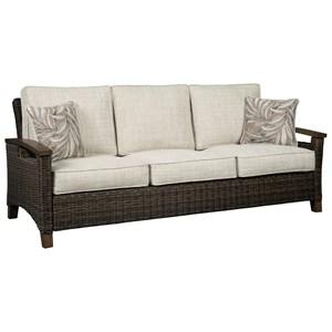 Ashley (Signature Design) Paradise Trail Sofa with Cushion