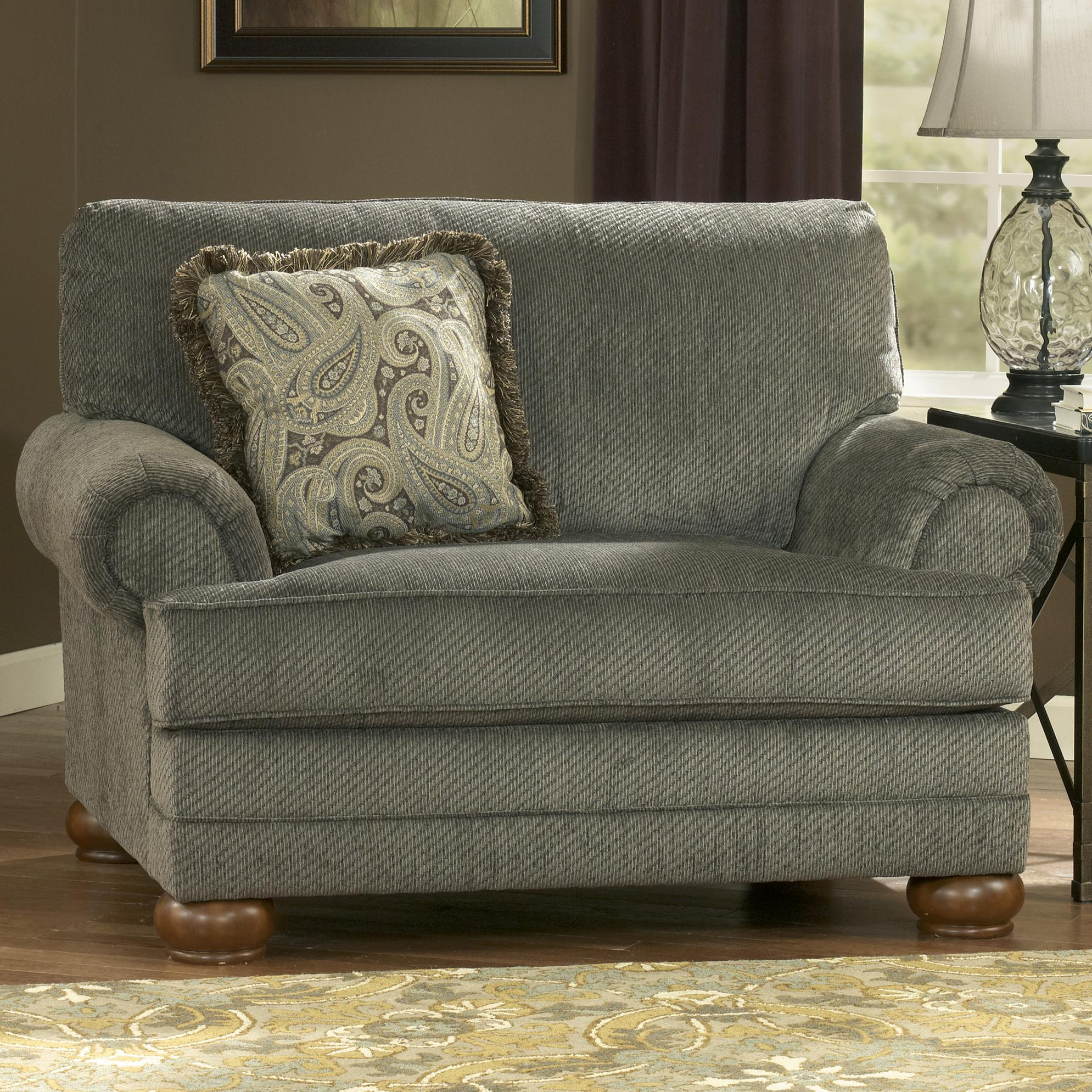 Signature Design by Ashley Parcal Estates - Basil Chair and a Half - Item Number: 7400523