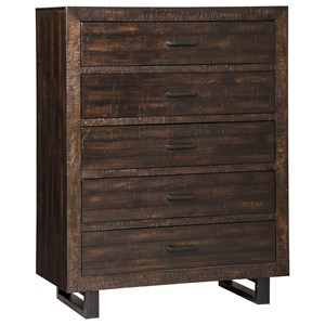 Signature Design by Ashley Parlone Five Drawer Chest