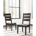 Signature Design by Ashley Parlone Modern Rustic Dining Upholstered Side Chair