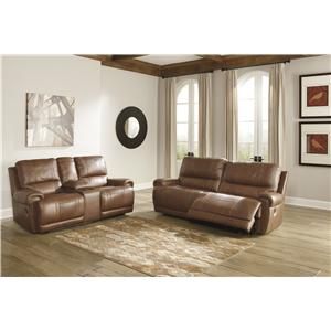 Signature Design by Ashley Paron - Vintage Power Reclining Living Room Group