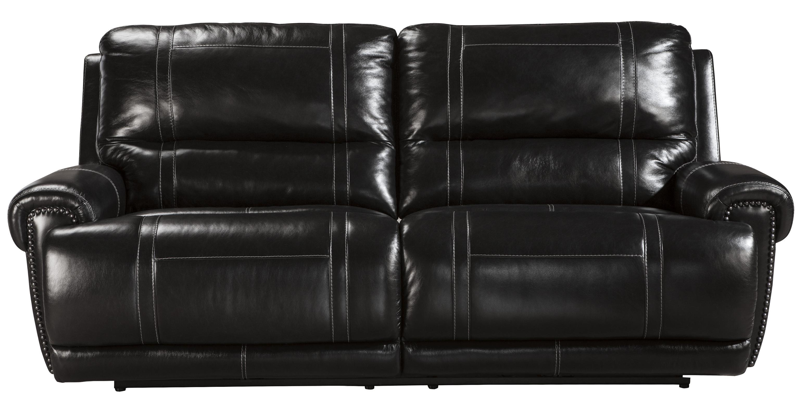 Signature Design by Ashley Paron - Antique 2 Seat Reclining Power Sofa - Item Number: U7590147