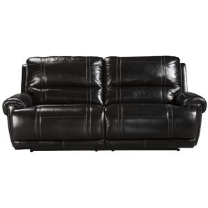 Signature Design by Ashley Paron - Antique 2 Seat Reclining Power Sofa