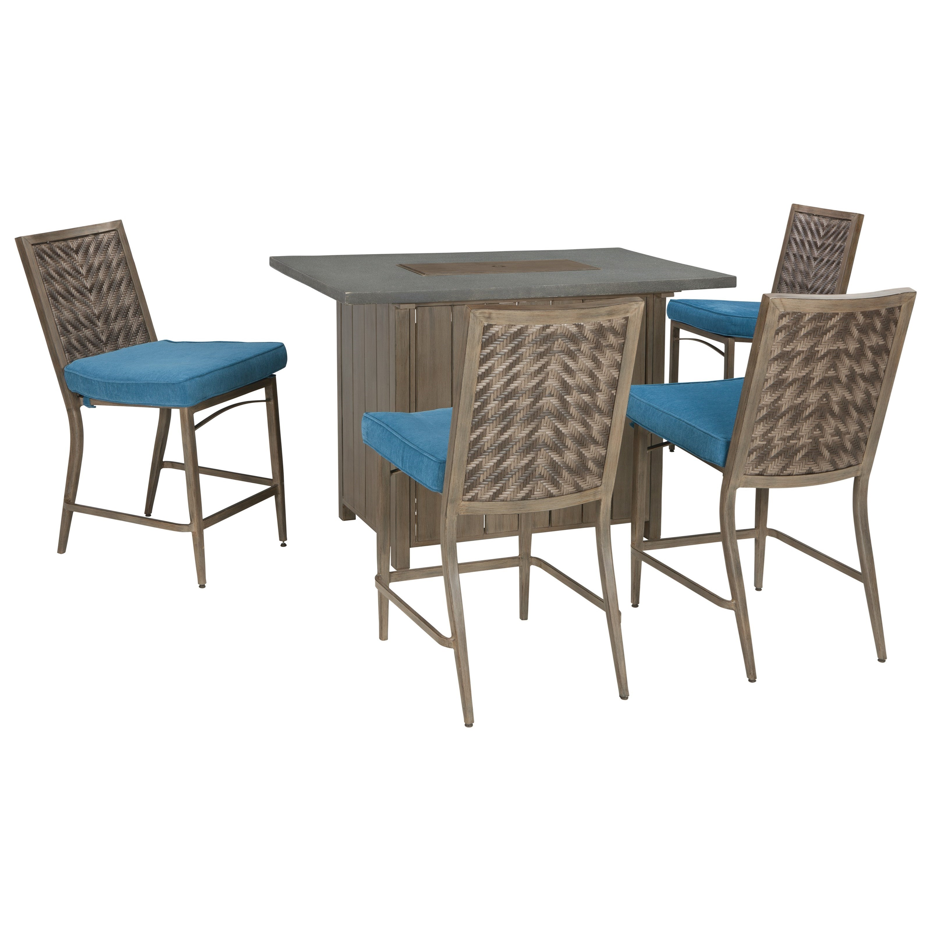 Signature Design by Ashley Partanna Set of 4 Outdoor  : products2Fsignaturedesignbyashley2Fcolor2Fpartannap556 130 b11 from www.elpasohouseholdfurniture.com size 3200 x 3200 jpeg 749kB