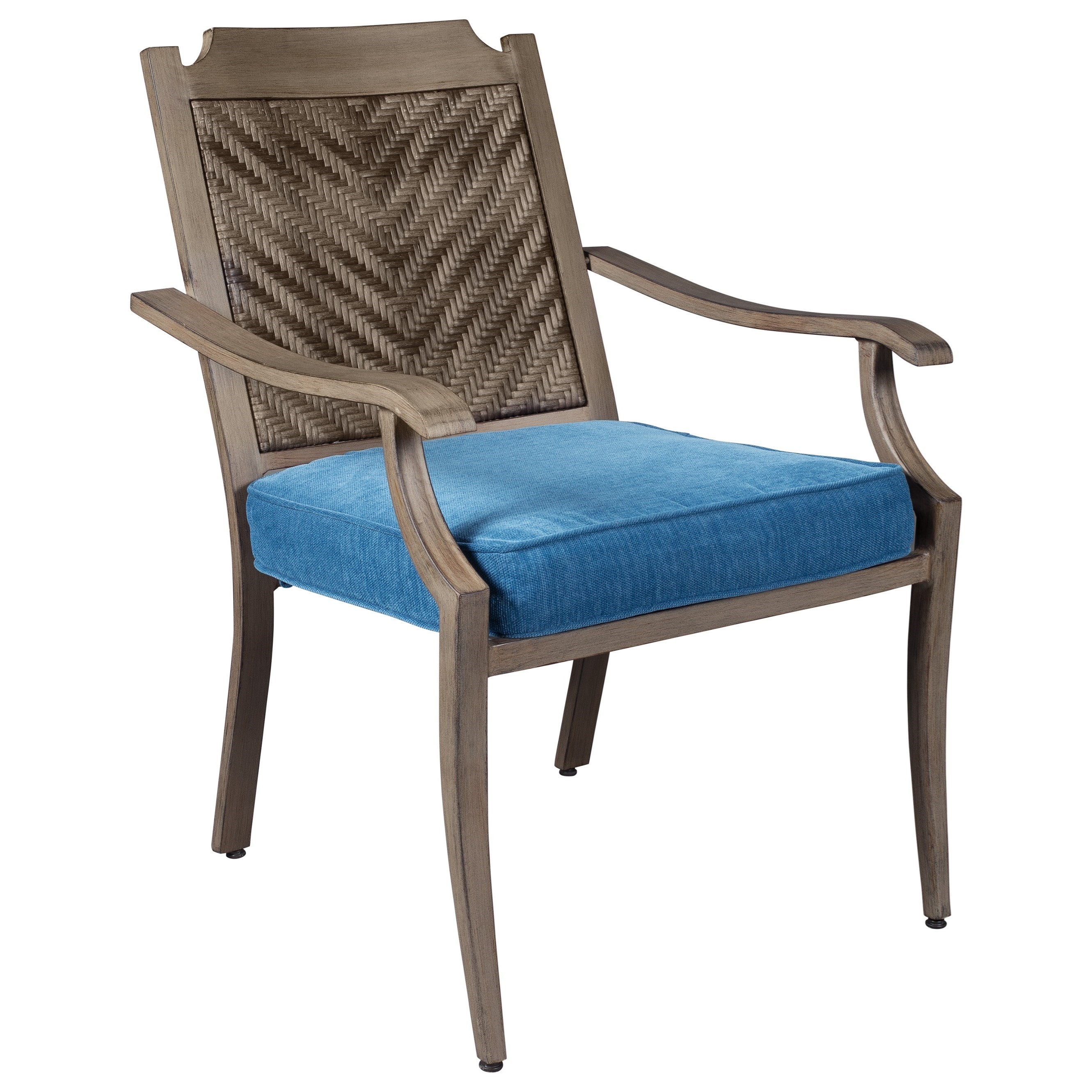 Signature Design by Ashley Partanna Set of 4 Outdoor Chairs with Cushion - Item Number: P556-601A