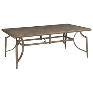 Outdoor Rectangular Dining Table