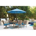 Signature Design by Ashley Partanna Outdoor Rectangular Dining Table