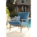 Signature Design by Ashley Partanna Set of 2 Outdoor Motion Lounge Chairs