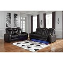 Signature Design by Ashley Party Time Power Reclining Living Room Group - Item Number: 37003 Living Room Group 1