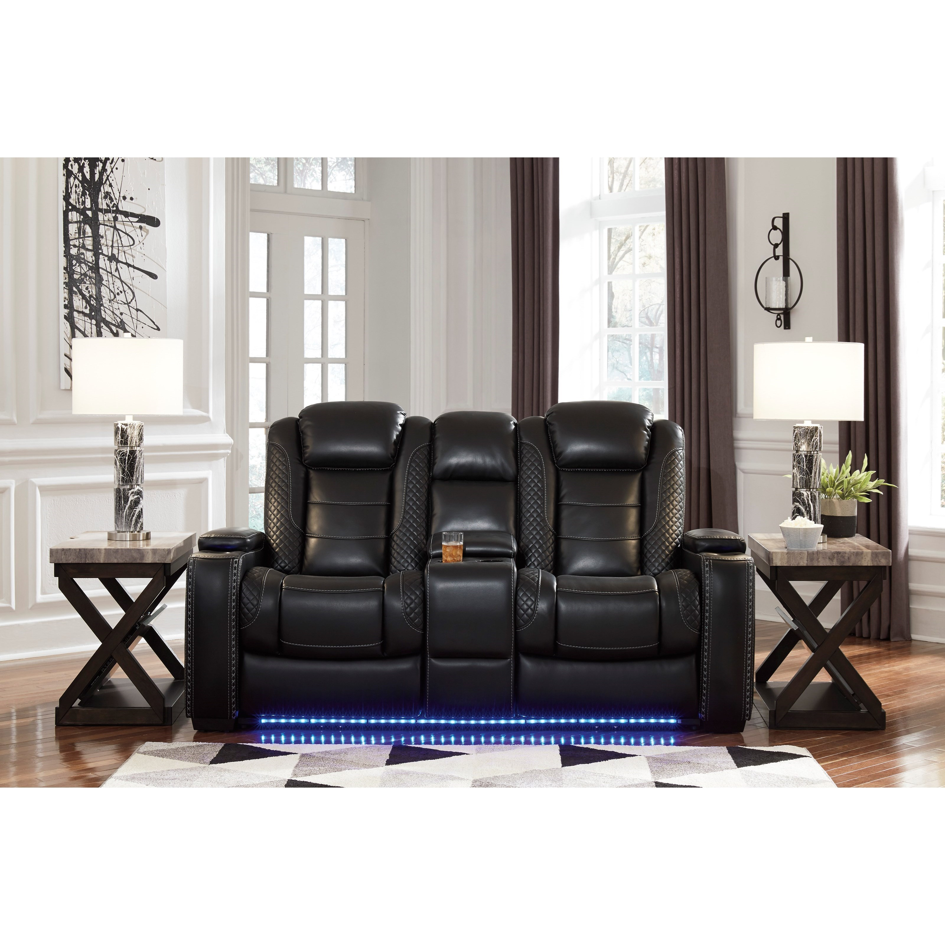 Signature Design By Ashley Party Time Power Reclining