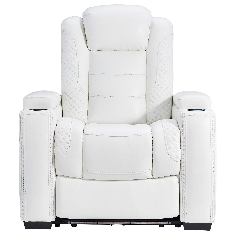 Power Recliner with Adjustable Headrest