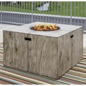 Signature Design by Ashley Peachstone Square Fire Pit Table - Item Number: P655-772
