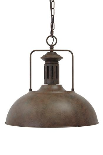 Signature Design by Ashley Pendant Lights Famke Antique Brown Metal Pendant Light - Item Number: L000028