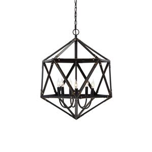 Signature Design by Ashley Pendant Lights Fadri Bronze Finish Metal Pendant Light