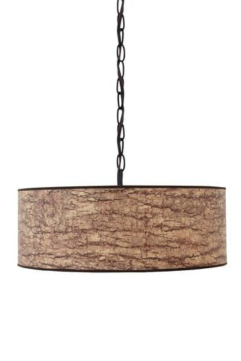 Signature Design by Ashley Pendant Lights Dajuan Light Brown Paper Pendant Light  - Item Number: L000048