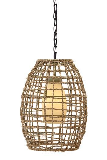 Signature Design by Ashley Pendant Lights Dalinda Natural Pendant Light  - Item Number: L000058