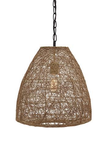 Signature Design by Ashley Pendant Lights Eadoin Natural Pendant Light  - Item Number: L000078