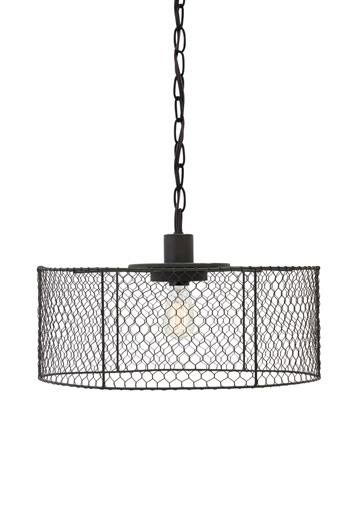 Signature Design by Ashley Pendant Lights Eavan Black Metal Pendant Light  - Item Number: L000098