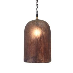 Signature Design by Ashley Pendant Lights Fabunni Brown Glass Pendant Light