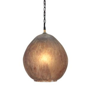 Signature Design by Ashley Pendant Lights Fadey Brown Glass Pendant Light