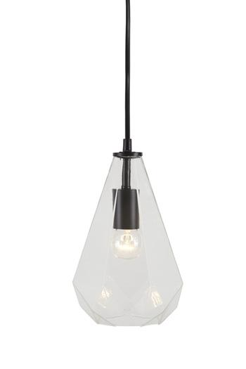 Signature Design by Ashley Pendant Lights Ianna Clear Glass Pendant Light  - Item Number: L000248