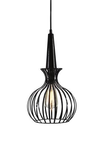 Signature Design by Ashley Pendant Lights Ichiro Black Metal Pendant Lamp  - Item Number: L000268