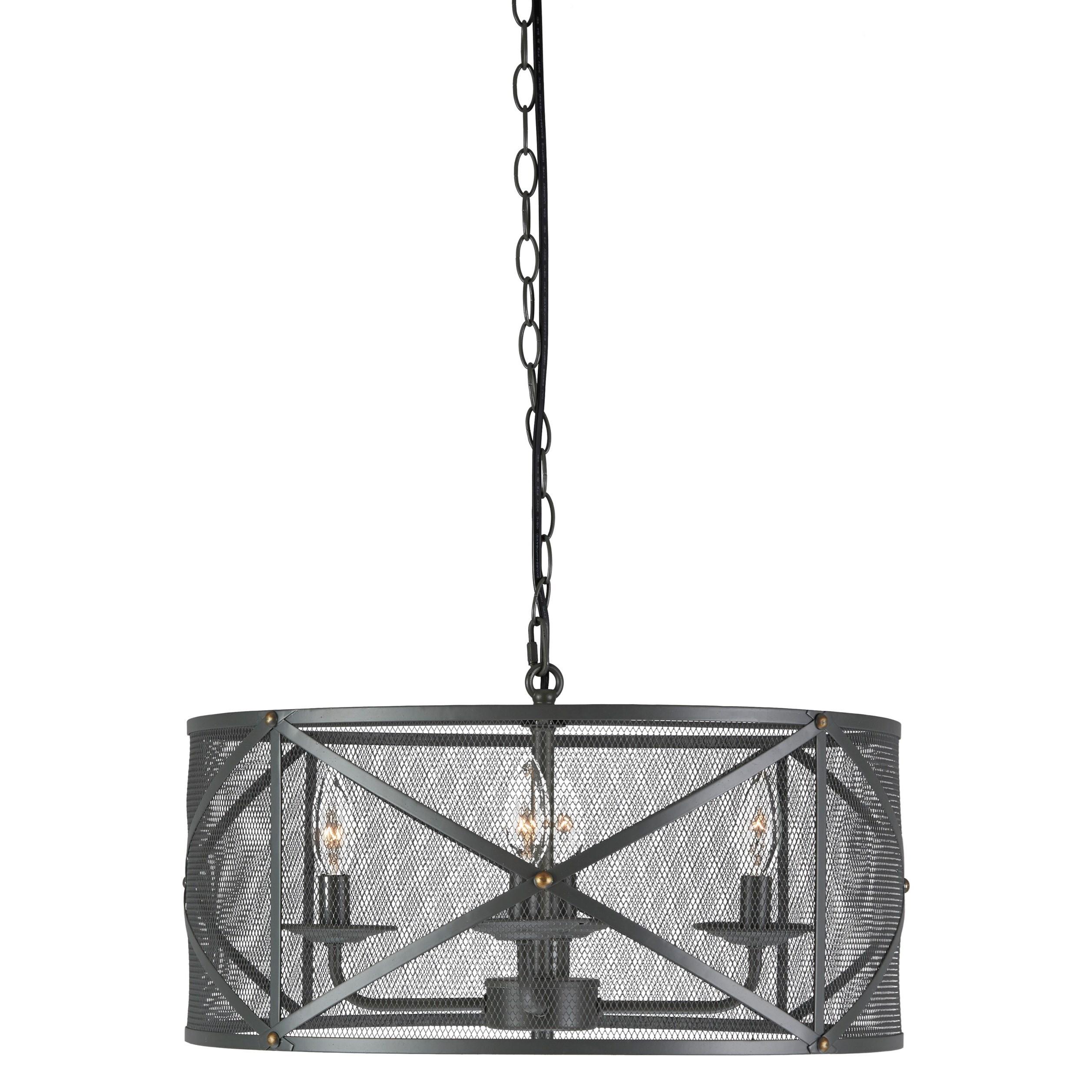 Signature Design by Ashley Pendant Lights Jovani Charcoal Metal Pendant Light - Item Number: L000358
