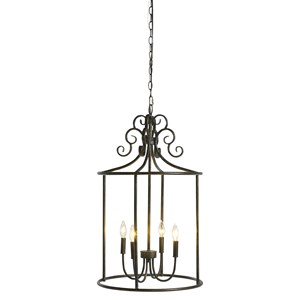 Signature Design by Ashley Pendant Lights Jarah Antique Bronze Metal Pendant Light