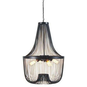 Signature Design by Ashley Pendant Lights Jessika Black Metal Pendant Light