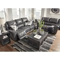 Signature Design by Ashley Persiphone Reclining Living Room Group - Item Number: 60701 Living Room Group 1