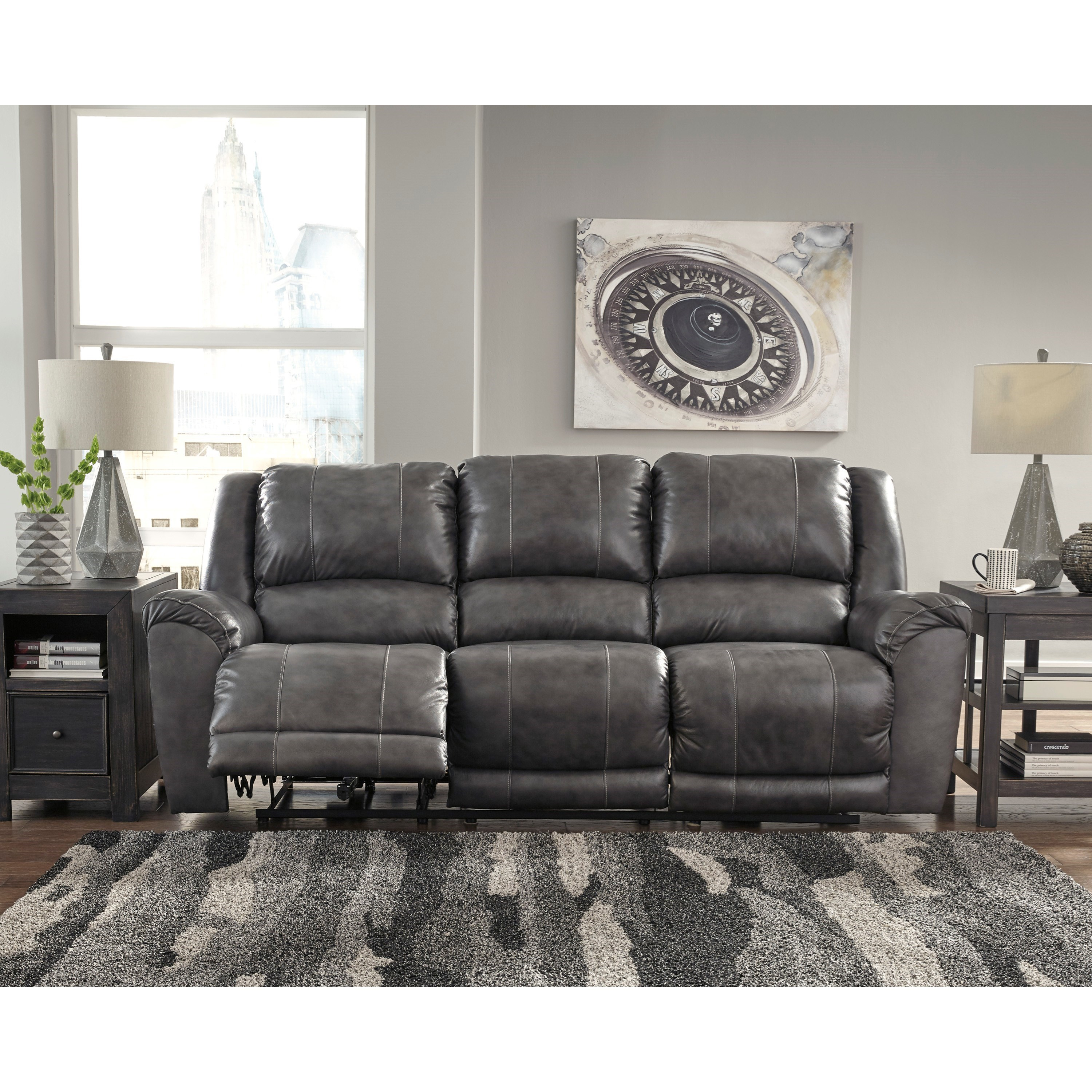 Does Sofa And Loveseat Have To Match: Ashley Signature Design Persiphone 6070187 Leather Match
