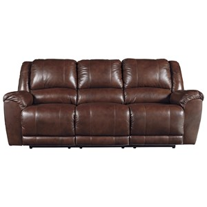 Signature Design by Ashley Persiphone Reclining Power Sofa