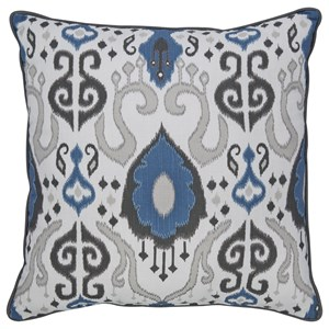 Signature Design by Ashley Pillows Damaria Blue Pillow