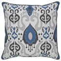 Signature Design by Ashley Pillows Damaria Blue Pillow - Item Number: A1000230P