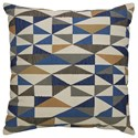 Signature Design by Ashley Pillows Daray Multicolored Pillow - Item Number: A1000233P