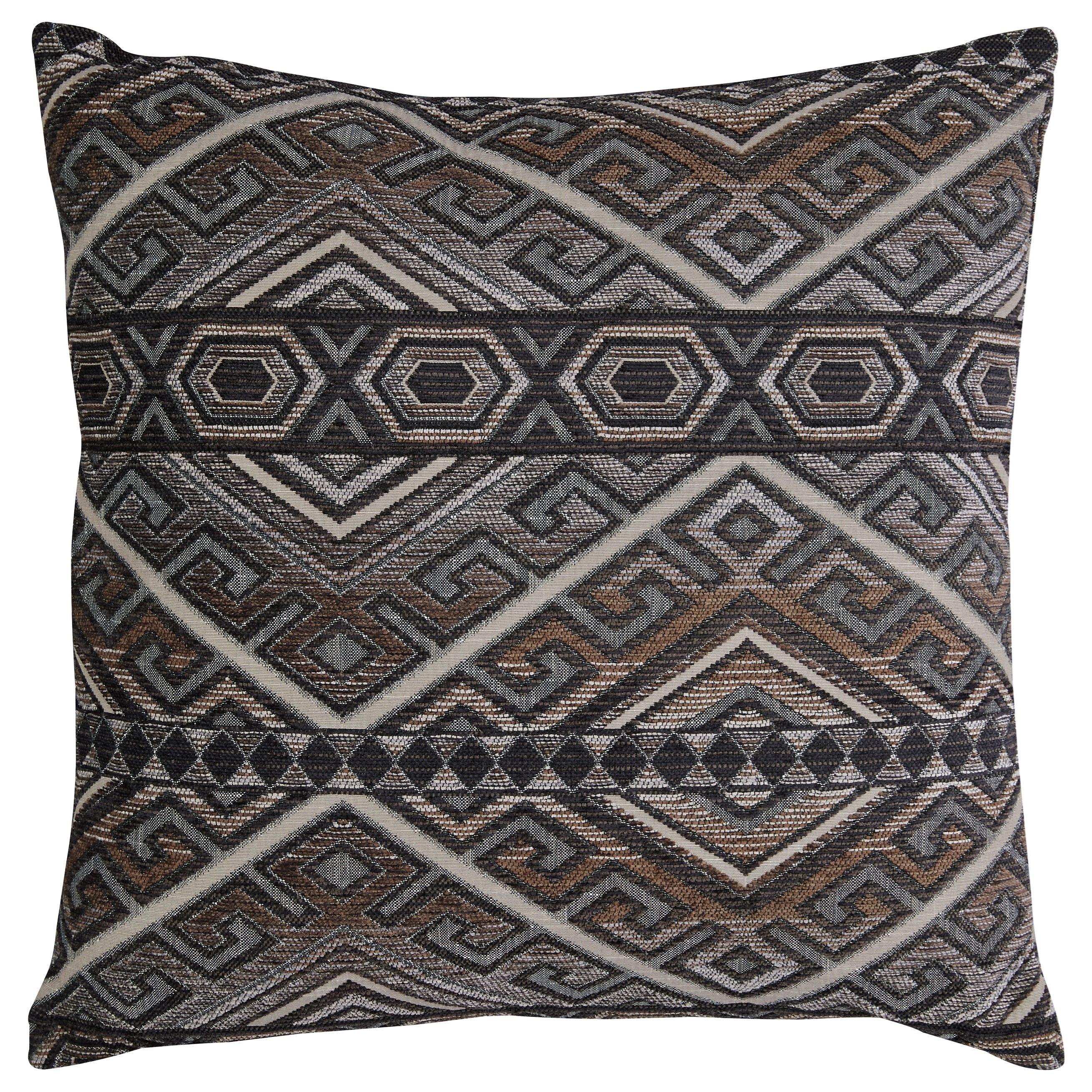 Erata Gray/Brown Pillow