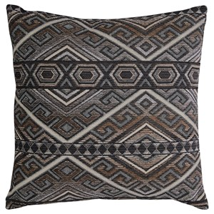 Signature Design by Ashley Pillows Erata Gray/Brown Pillow
